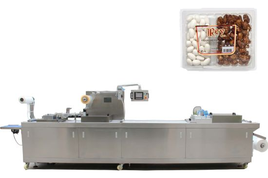 Automatic Thermoforming Packaging Machine for Almonds in Rigid Film (DZL)