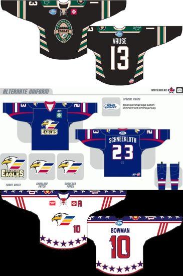size 40 7672d c699f Customized Echl Colorado Eagles Hockey Jersey