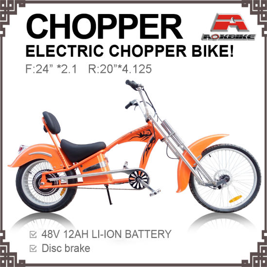 China Electric Chopper Bicycle 20-24 Chopper Bike - China