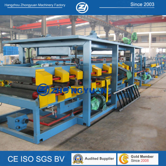 Factory Lifetime Service! EPS Polyurethane Continue Sandwich Panel Production Line (ZYYX-970) pictures & photos