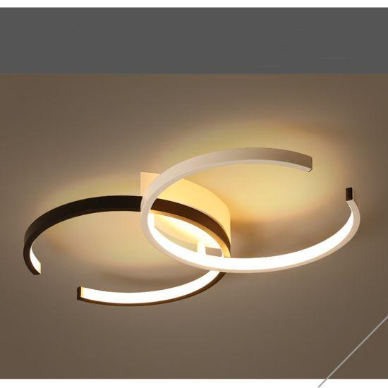 China Modern Led Lights For Living Room Dining Kitchen Bedroom Home Black Rectangle Indoor Ceiling Lamp Lighting Gx 804 China Pendant Lamp Modern Lamp