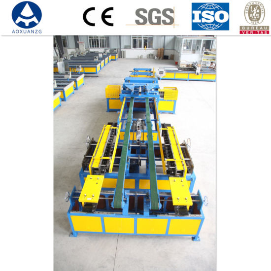 Air Conditioner Duct Equipment Auto Duct Line IV/ Auto Duct Making Machine