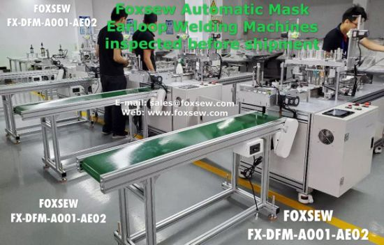 Automatic Mask Earloop Welding Machine