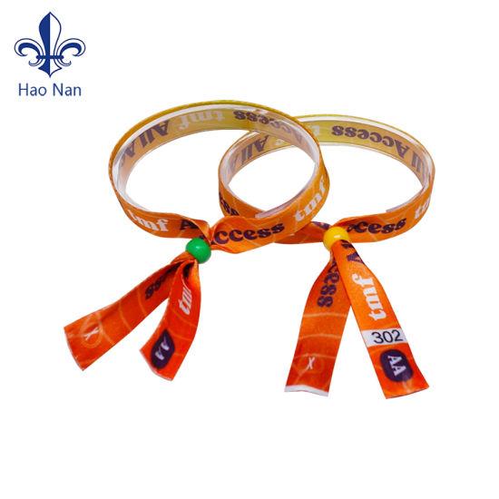 New Products Identification Fabric Wristband