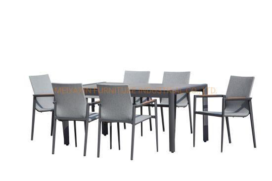Wholesale Patio Hotel Resort Garden Terrace Furniture Aluminium Outdoor Dining Home Furniture