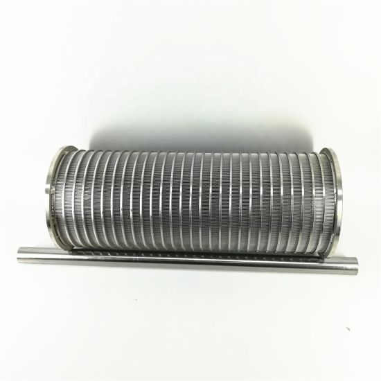 100 Micron Wedge Wire Filter Screens for Tank Cleaning Systems
