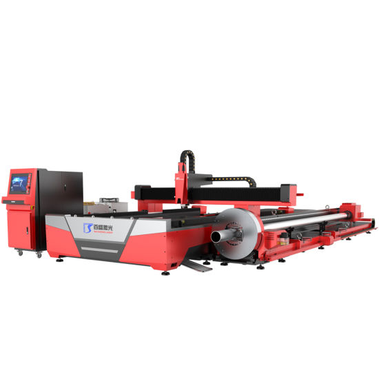 High Accuracy Simultaneous Exchange Platforms Laser Cutting Machine for Metal Steel and Tube