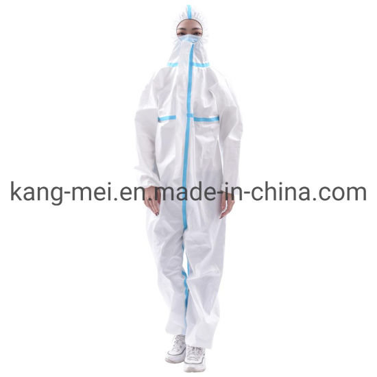 Wholesale High Quality Disposable Protective Suit/Clothing Safety Clothing