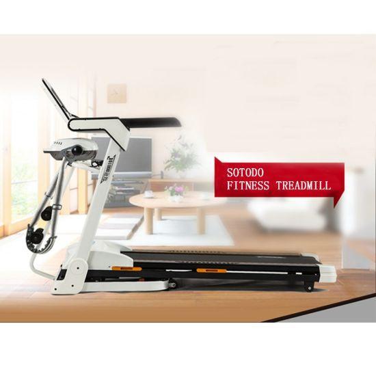 Mini Small Home Use Folding Fitness Walking Manual Treadmill