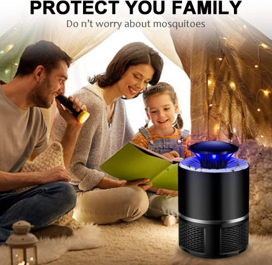 Electronic Insect Lamp Electric Indoor USB Noiseless Powerful Efficient Light Mosquito Killer