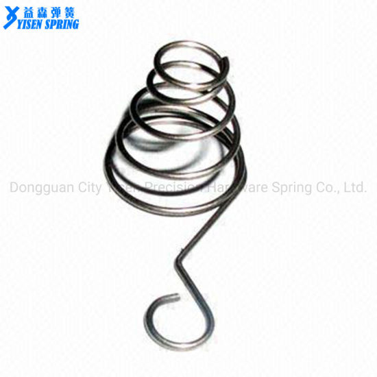 Nickel Alloy Conical Battery Contact Compression Coil Springs pictures & photos