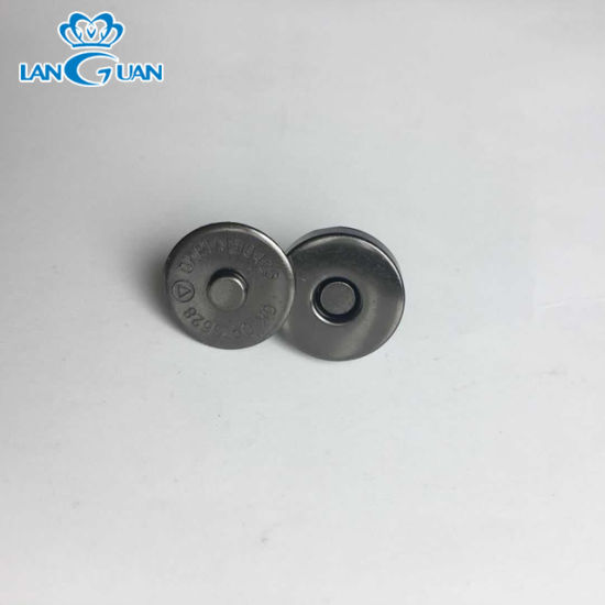 High Quality Golden Metal Magnetic Snap Buttons for Bags
