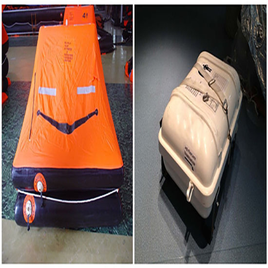 Solas Approved 4-12 Person Inflatable Yacht Liferafts with Valise and  Container Packing