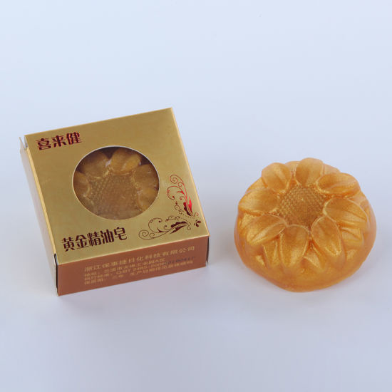 OEM Factory Nano Gold 30g 100g Handmade Face Clean Natural Oil Soap