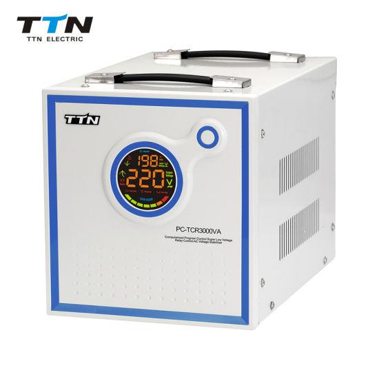 PC-TCR500va AVR AC Automatic Voltage Stabilizer Circuit Diagram