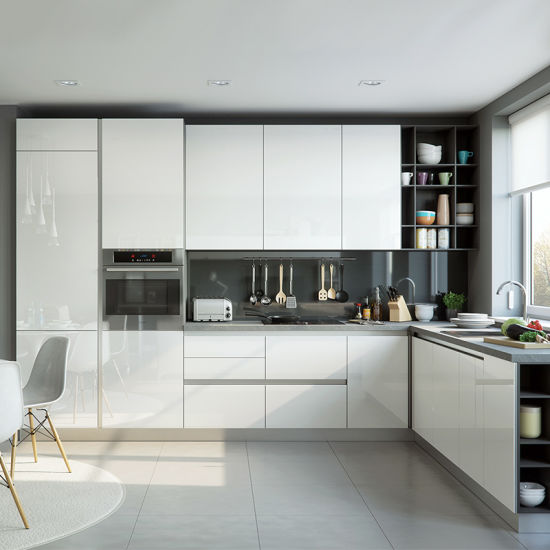 Modern Melamine Home Furniture Kitchen Cabinet Zf-Kc-005