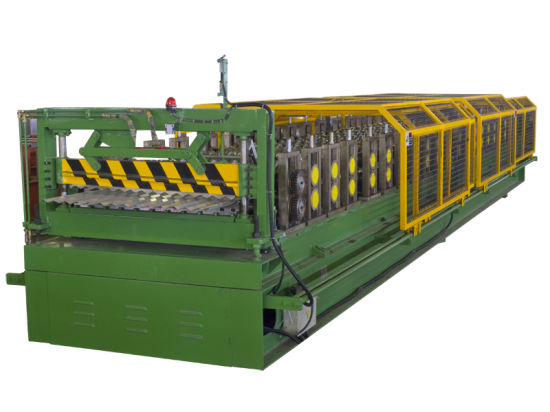 Popular Cassette Type Roof Roll Forming Making Machine