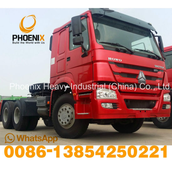 Good Condition 371HP Used Sinotruck HOWO Horse Tractor Truck 6X4 Tractor Head for African Market