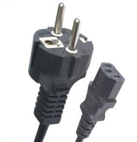 EU AC French Plug Power Cord Schuko Plug VDE Approval Power Extension Cord Computer Power Cord