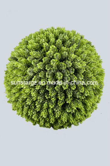 China Plastic Pe Artificial Plant Hops Ball With Powder For