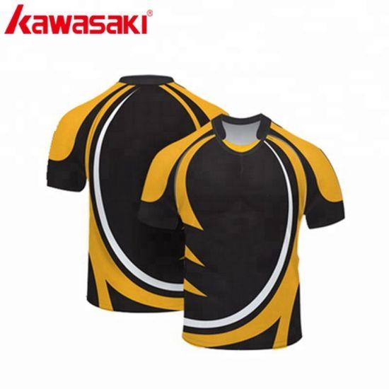 Design Blank Wholesale Sublimation Rugby Men's T-Shirt Raglan Sleeve Clothing