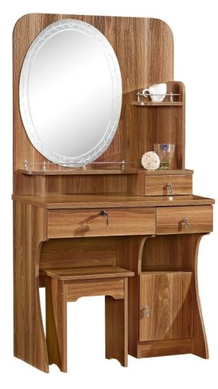 Wooden Mirror Stand Designs : China mdf dressing table melamine pvc finish new design mirror