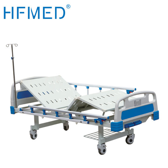 Height Adjustable Folding Electric Hospital Furniture Medical ICU Bed (TN-836)