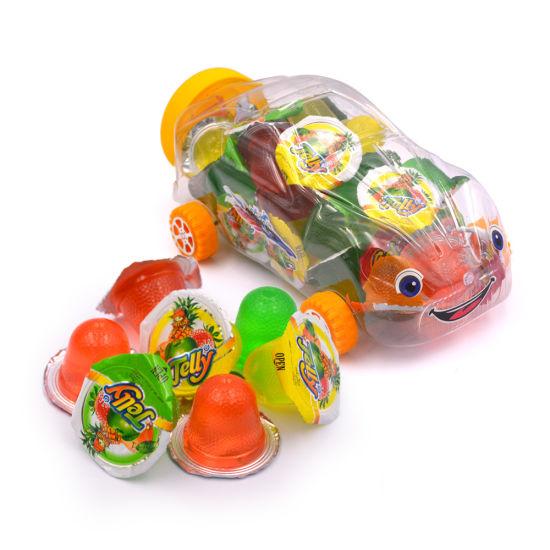 Car Shape Fruit Jelly Cup