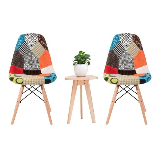 Factory Wholesale Hot Selling Wooden Leg Modern Nordic Plastic Dining Chair