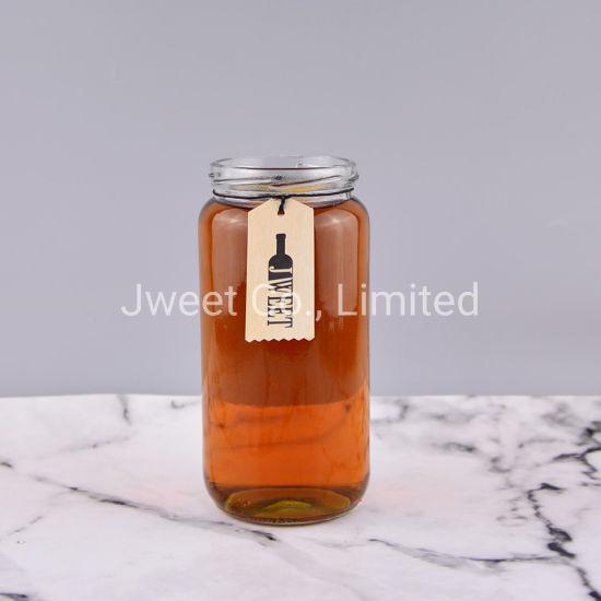900ml Transparent Round Water Bottle Cold Drink Juice Bottle