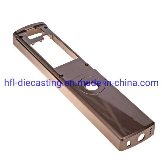 High Quality Aluminum Die Casting Cover for Smart Lock