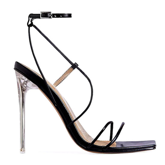 Fashion Shoes Women Shoes High Heels Ladies Shoes Clear Heels Lady Sandals