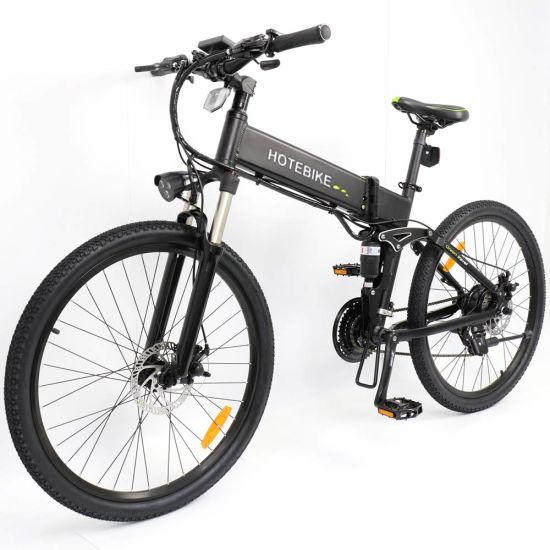 26 Inch 36V 250W 350W Folding Mountain Electric Bike