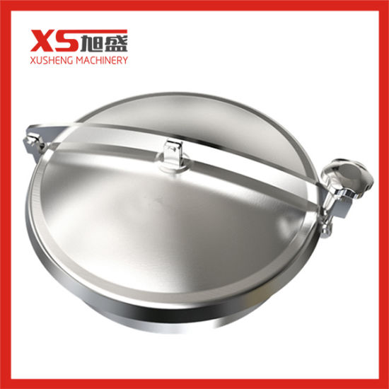 Stainless Steel Sanitary Oval Hatches Manway Manhole Cover