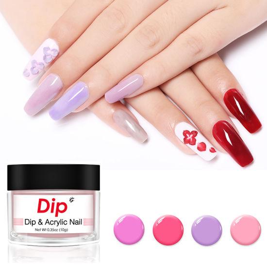 China Custom Private Logo Organic Acrylic Nail DIP Powder System ...