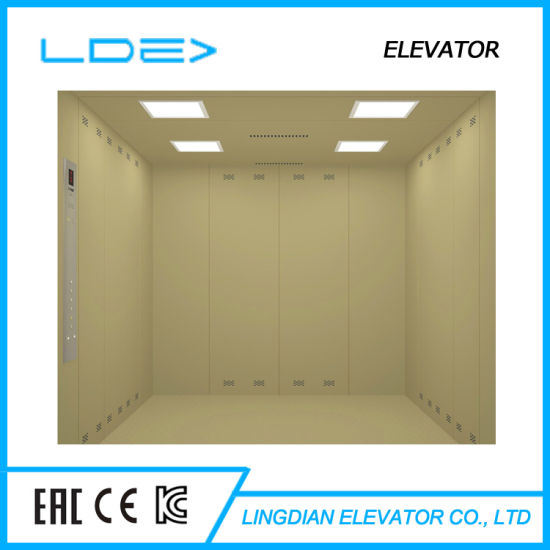 Stable and Safe Machine Room Freight Elevator Hoist Furniture Elevator