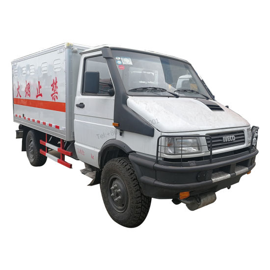 Iveco 4x4 Blasting Equipment Transporter Van Truck