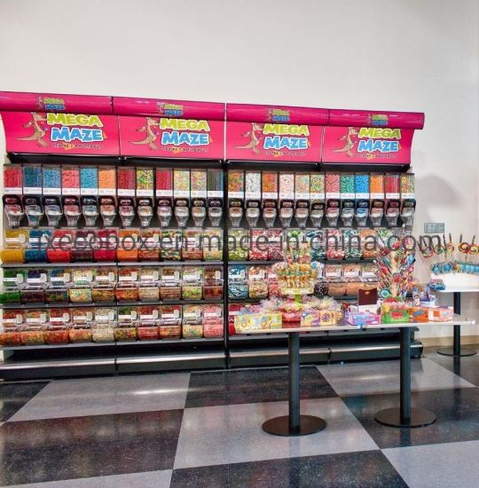 China Supplier Supermarket Gondola Shelving Display Supermarket Shelf Candy Display Shelving