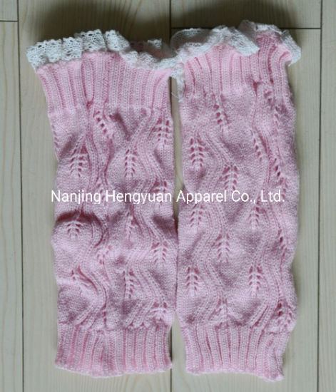 BSCI Audit Custom Design Lady Knitted Legwamer