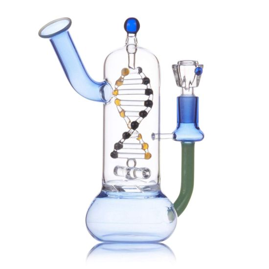 Hot Sell 7 Inch Unique DNA Glass Smoking Pipe for Sale