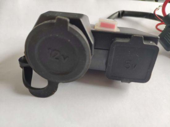 Fbmsusb-01 Cigarette Lighter Car Charger Cigarette Lighter with USB