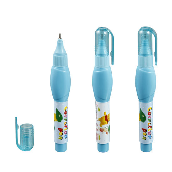 Non-Toxic Quick Dry Metal Tip Correction Fluid, Student and Office Supplies Correction Pen pictures & photos
