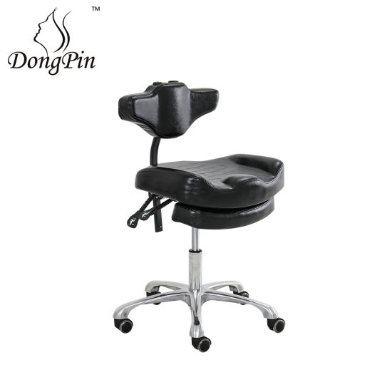 Modern Tattoo Master Chair Beauty Salon Stool Chair with Wheel