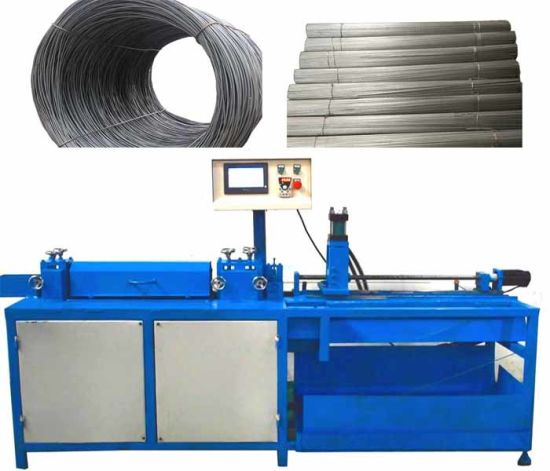 Automatic CNC Steel Wire Straightening and Cutting Machine
