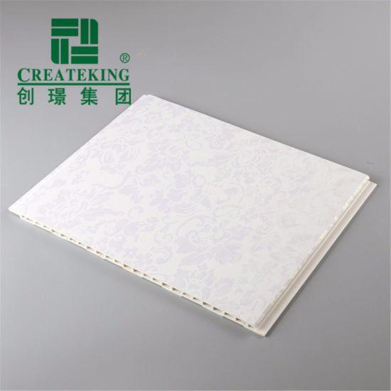 Popular Waterproof Wood Color PVC Ceiling Panels