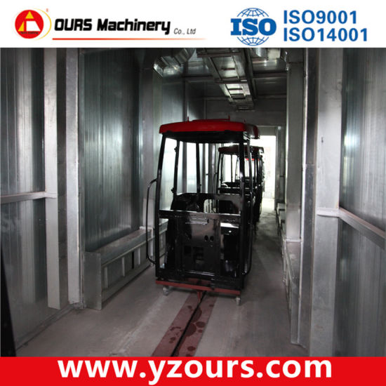 Full Painting/Paint Spraying Line with Overseas Installation and Commissioning pictures & photos