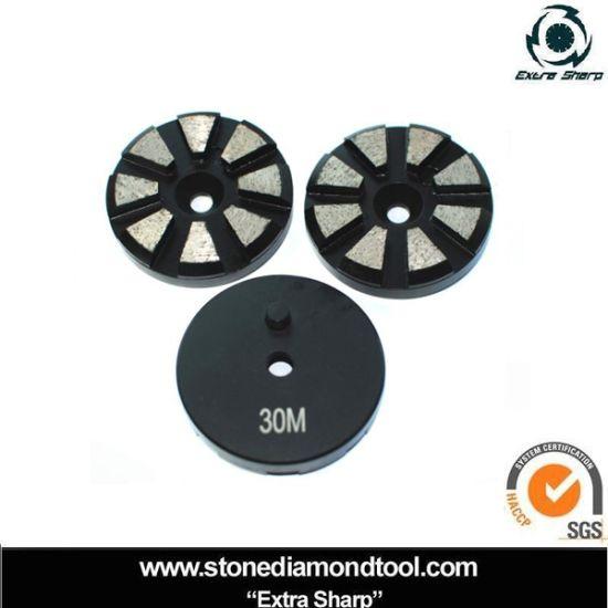 China Supply Metal Bond Marble Terrazzo Grinding Disc