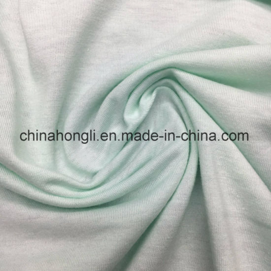 Poly/Cotton 65/35 Single Jersey Solid Knitting Fabric for T-Shirt