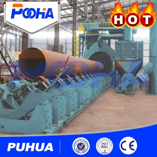 Qgw Series Steel Pipe Outwall Shot Blasting Machine with Cheap Price pictures & photos