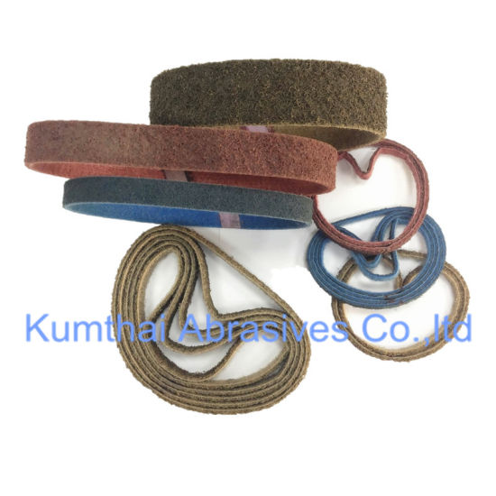 Non-Woven Abrasive Surface Conditioning Rolls / Belts / Discs pictures & photos
